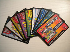 x10 Various Schwarz & Weiß Collector Pokemon TCG OnLine Code Karten