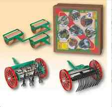 3 FARM SET #2 CLOCKWORK TINPLATE FOR KOVAP TRACTORS (TRACTOR NOT INCLUDED)