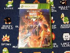 Ultimate Marvel vs. Capcom 3 BRAND NEW SEALED  (Xbox 360, 2011)