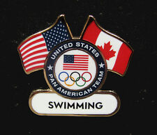 TORONTO 2015 Pan Am Olympic Games Lmtd USA Swimming delegation team staff  pin