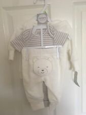 BNWT Carters Baby Three Piece Outfit With Cardigan 3m