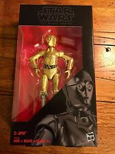"Disney Hasbro Star Wars C-3PO Figure 6"" Black Series Walgreens Exclusive"
