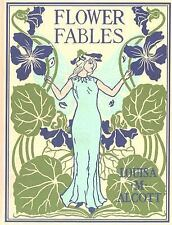 Flower Fables by Louisa May Alcott (2005, Hardcover)