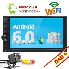 "2din 7"" Android 6.0 Car GPS Stereo Radio DAB+ TV NO DVD WIFi-3G Bluetooth+camera"