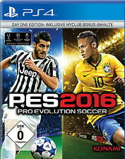 PS4 Spiel Pro Evolution Soccer 2016 Sony PlayStation 4 Top Game