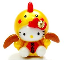 Hello Kitty Loves Chicken Wings Swarovski Elements Crystal Japan Pendant Charm