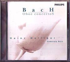 Heinz HOLLIGER: J.S. & C.P.E BACH Oboe Concerto Thomas ZEHRTMAIR CD Canonic Trio