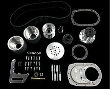 DPI SBC Blower Drive Kit ( Fits 6-71 & 8-71 ) - Brushed bracket, 8M 53 & 8M 55