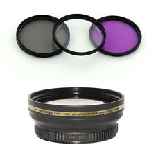 72mm Wide Angle Lens,CPL Filter kit for Nikon AF-S DX NIKKOR 18-200mm f/3.5-5.6G