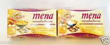 2 bars/MENA Herbal Soap With Scrub Curcumin Honey Anti-Aging Spot Cleanser 100g.