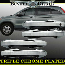 2007-2011 Honda CR-V Chrome Door Handle Covers Overlays Trims