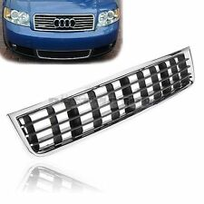 For Fit 02-05 03 04 Audi A4 B6 Sedan Front Bumper Center Lower Grille Grill New