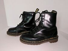 Doc Dr. Martens Men's 8 Women's 9* Made in England VTG Unisex Black Air Wair