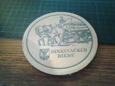 sottobicchiere beer mats birra dinkelacker biere