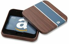 One $200 Amazon Gift Card in an Ornament Gift Box. Fast Next-Day Shipping