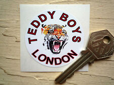 TEDDY BOYS LONDON STICKERS Classic motorcycle Rockers