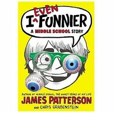 I Even Funnier: A Middle School Story (I Funny)-ExLibrary