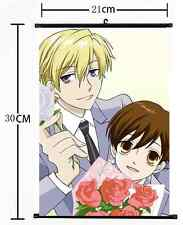 HOT Anime Ouran High School Host Club Wall Poster Scroll Home Decor Cosplay 1128