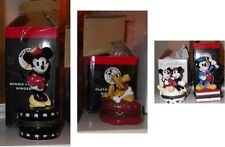 Mickey Minnie Pluto PHB Disney Porcelain Hinged Boxes set of 4