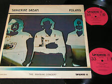 TANGERINE DREAM Poland - The Warsaw Concert / 80s Polish DLP TONPRESS SX-T 64/65