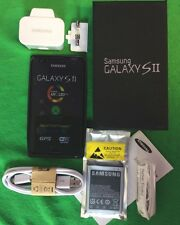 SAMSUNG GALAXY S2  GT-I9100 Black (Unlocked) 16GB  8MP Camera Brand New Boxed