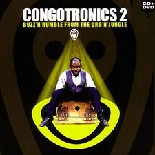 CD CONGOTRONICS 2 -  Buzz'n'Rumble from the Urb'n'Jungle - CD + DVD