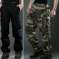 2016 ARMY CARGO CAMO COMBAT MILITARY MENS TROUSERS CAMOUFLAGE PANTS CASUAL 29-38