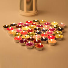 10 mix Color Scented Tea Light Candles Lovers Romantic Votive Candles Wedding