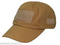 NEW - Coyote Tan Peaked Operators Baseball Cap
