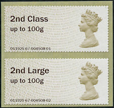 NCR ERROR 2nd + 2nd LARGE PAIR on MA14 1st CLASS MACHIN ERRORS POST & GO