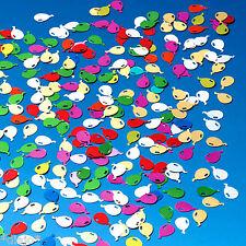 100 Stück Ballons Balloons metallic bunt Streudeko Konfetti Tischdeko Dekoration