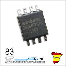 2 Unidades W25Q64FVSIG W25Q64 25Q64 SOP8 64M-BIT SPI-FLASH