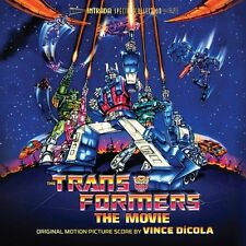 THE TRANSFORMERS CD SOUNDTRACK - ORIGINAL MOTION PICTURE SCORE - NEW UNOPENED