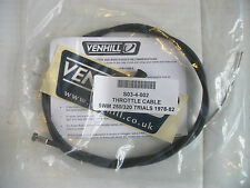 NEW SWM 250 320 THROTTLE CABLE TRIALS 1978-1982 VENHILL