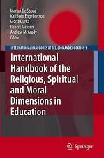 NEW International Handbook Of The Religious, Moral And... BOOK (Hardback)