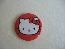 "BADGE HELLO KITTY BROCHE 3,8cm PIN BROOCH 38mm 1.50""  F40"