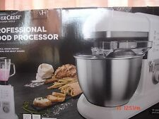New SilverCrest 1300w Professional Kitchen Machine Food Processor Mixer Blender