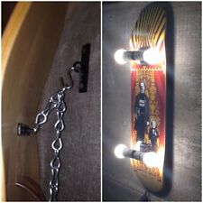 Skateboard Deck Display Wall Mount or Ceiling Hanger Floating longboard retro