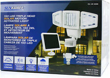 SunForce 150 LED Triple Head Solar Motion Activated Security Light 1000 Lumens