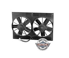 """SPAL 30102052 11"""" Dual Paddle Blade High Performance Fan Pull / Puller 2800CFM"""