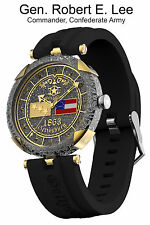 New Watchstar Gettysburg General Robert E. Lee Commander Confederate Army Watch