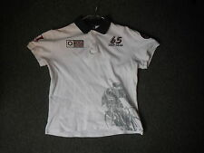 65 Deep Gear Authentic Tour De France Medium Ladies Polo Cycle Shirt