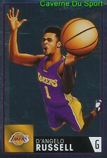 344 D'ANGELO RUSSELL USA LOS ANGELES LAKERS STICKER NBA BASKETBALL 2017 PANINI