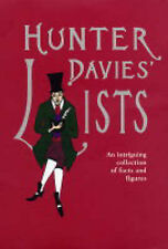 Hunter Davies' Lists: An Intriguing Collection of Facts and Figures, Hunter Davi