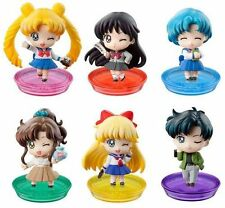 Sailor Moon 20th Anniversary MegaHouse Petit Chara Vol.3 'B' Set of Six Figure
