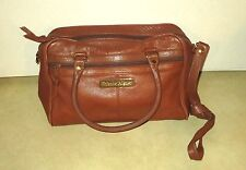 ETIENNE AIGNER BROWN LEATHER PURSE
