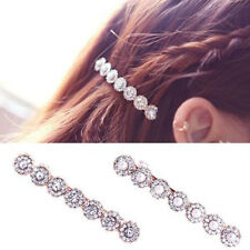 Pearl Diamond Clip Bang Clip Hair a Word Crystal Hair Clip Hair Delicate And New