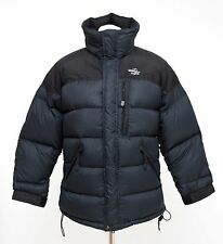 MENS HAGLOFS PUFFA JACKET DOWN PADDED WINTER NAVY SIZE S SMALL EXCELLENT