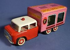 China chapa MF 782 Circus animal Truck Lion fricción circo león Tin Toy a166