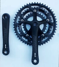 racing bike Triple Chainset prowheel black road bike Crankset 30 42 52T ch2